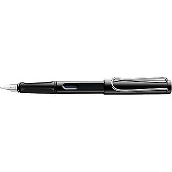 Lamy Safari Steel Nib Plastic Fountain Pen  - Black