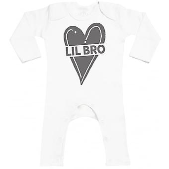 Spoilt Rotten Lil Bro Baby Footless Romper
