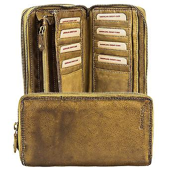 GREENLAND soft bags XL leather purse wallet 2676-25