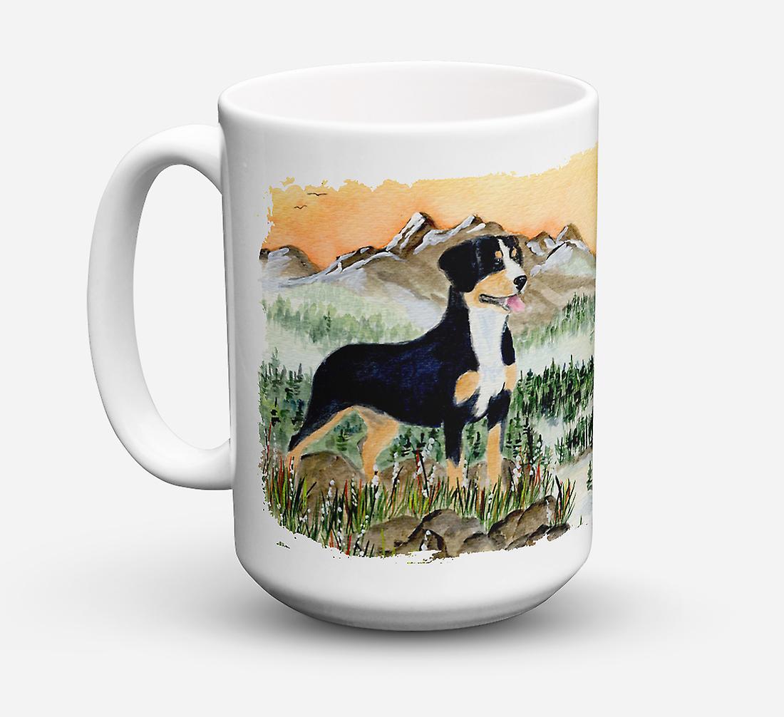 ondes 15 Ounc Café Sûre Mountain Mug Micro Dog Entlebucher Lave Céramique vaisselle Pour vnN80yPmwO