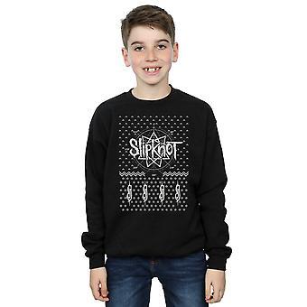 Slipknot Boys 9 Point Christmas Sweatshirt