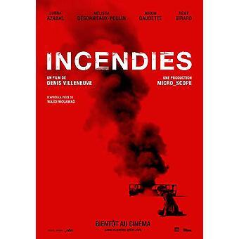 Incendies Movie Poster (11 x 17)