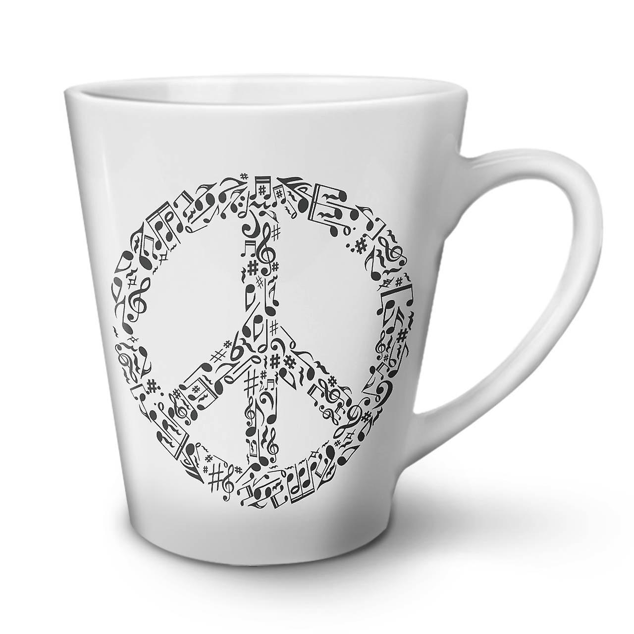 Café Blanche La Céramique Nouvelle Signe 12 Musique Latte Rasta De Tasse OzWellcoda En Paix nO0wk8P