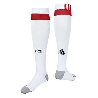 2017-2018 Bayern München Adidas dritte Fußball Socken (weiß)