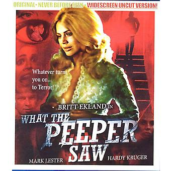 What the Peeper Saw [DVD] USA import
