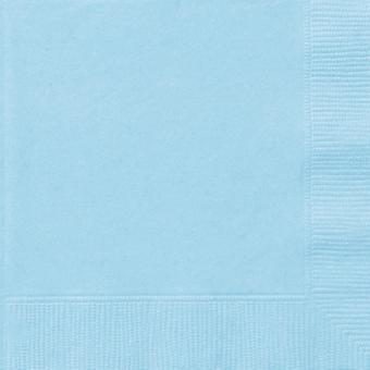 Baby Blue Napkins 20 In A Packet 33cm x 33cm