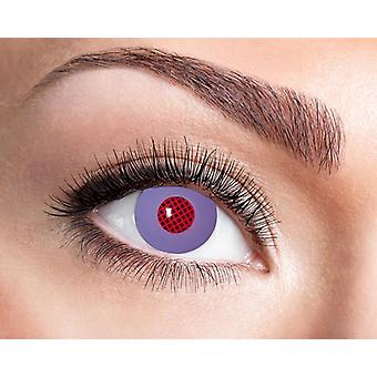 Android robot of alien contact lenses