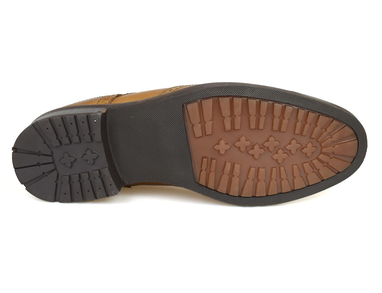 Swinley Leather Tan Red Shoes Brogue Men's Tape TxU0qSnCw8