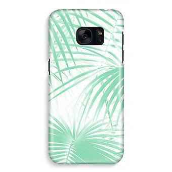 Samsung S7 Full Print Case - Palm leaves