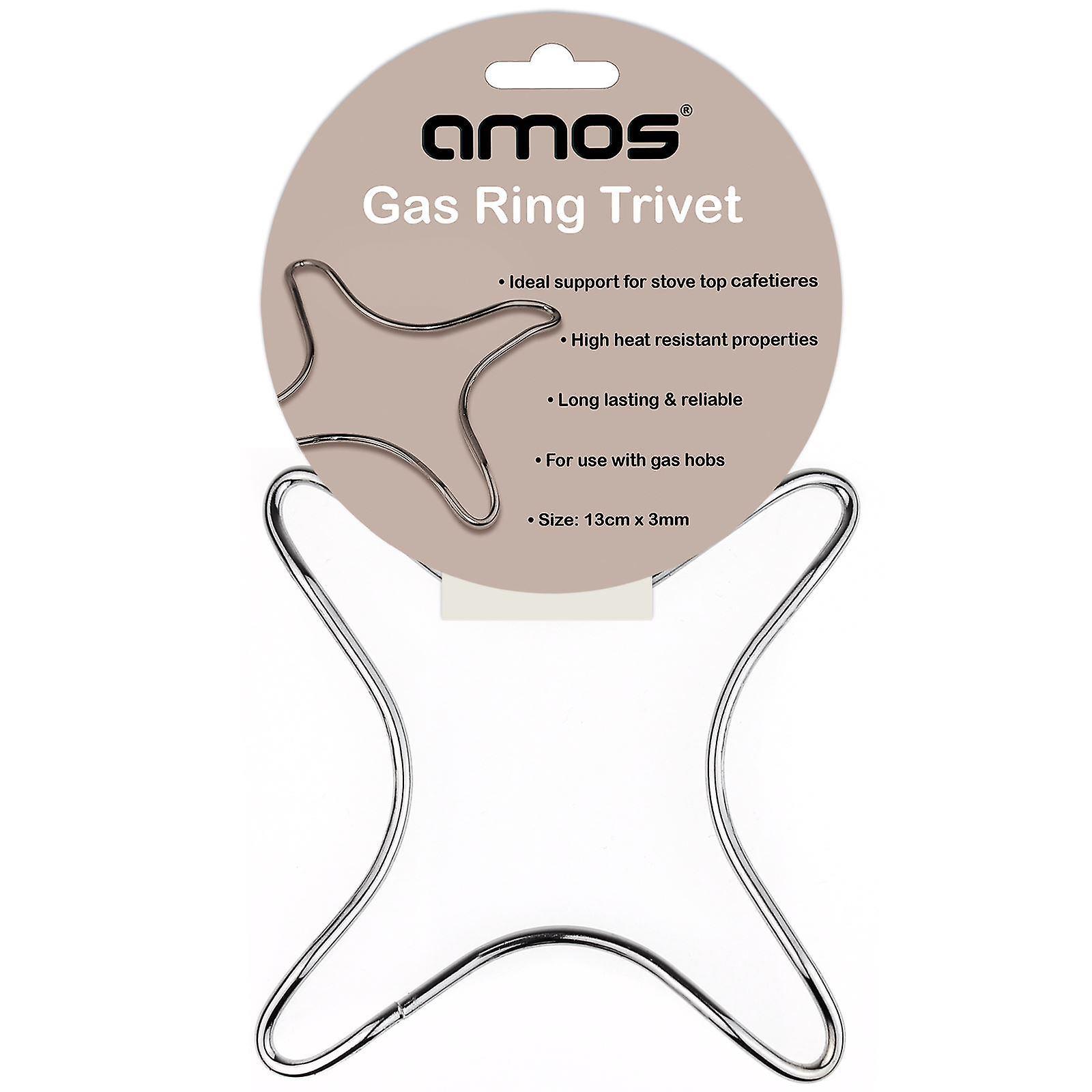 AMOS anello di Gas Sottopentola in acciaio inox stufa Top cottura induzione