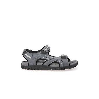 Geox U Sandal Strada Stonelt Grey U8224D0BC50C9014 universal  men shoes