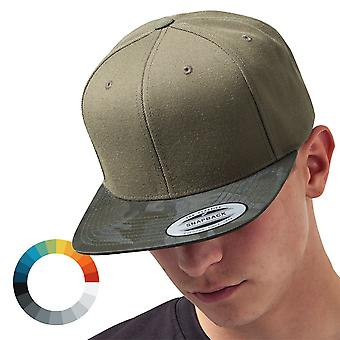 Ejército de flexfit visera de camuflaje Snapback gorra