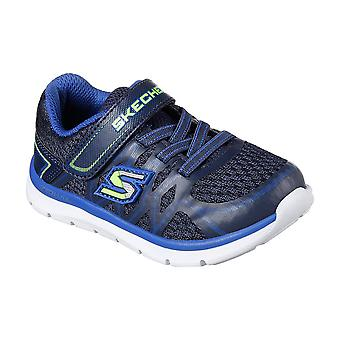 Skechers Childrens Boys Skech-Lite Quick Leap Trainers