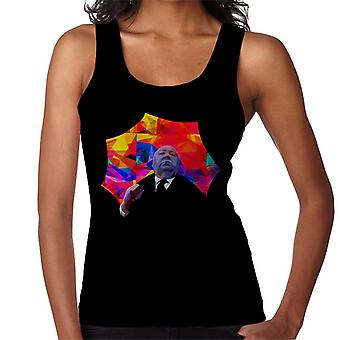 Alfred Hitchcock Kaleidoscope Umbrella 1975 Women's Vest