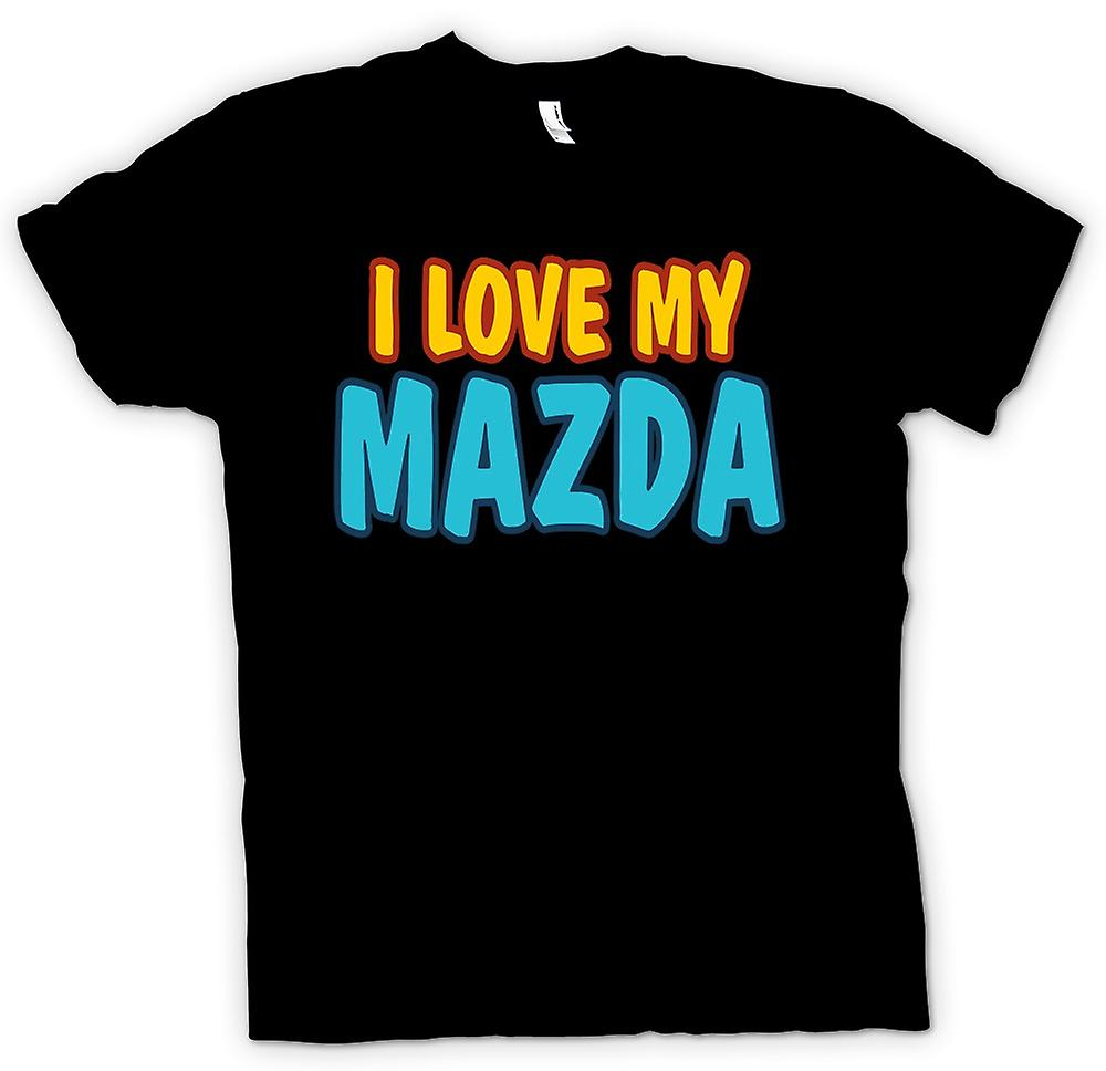 Kids T-shirt -  I Love My Mazda - Car Enthusiast