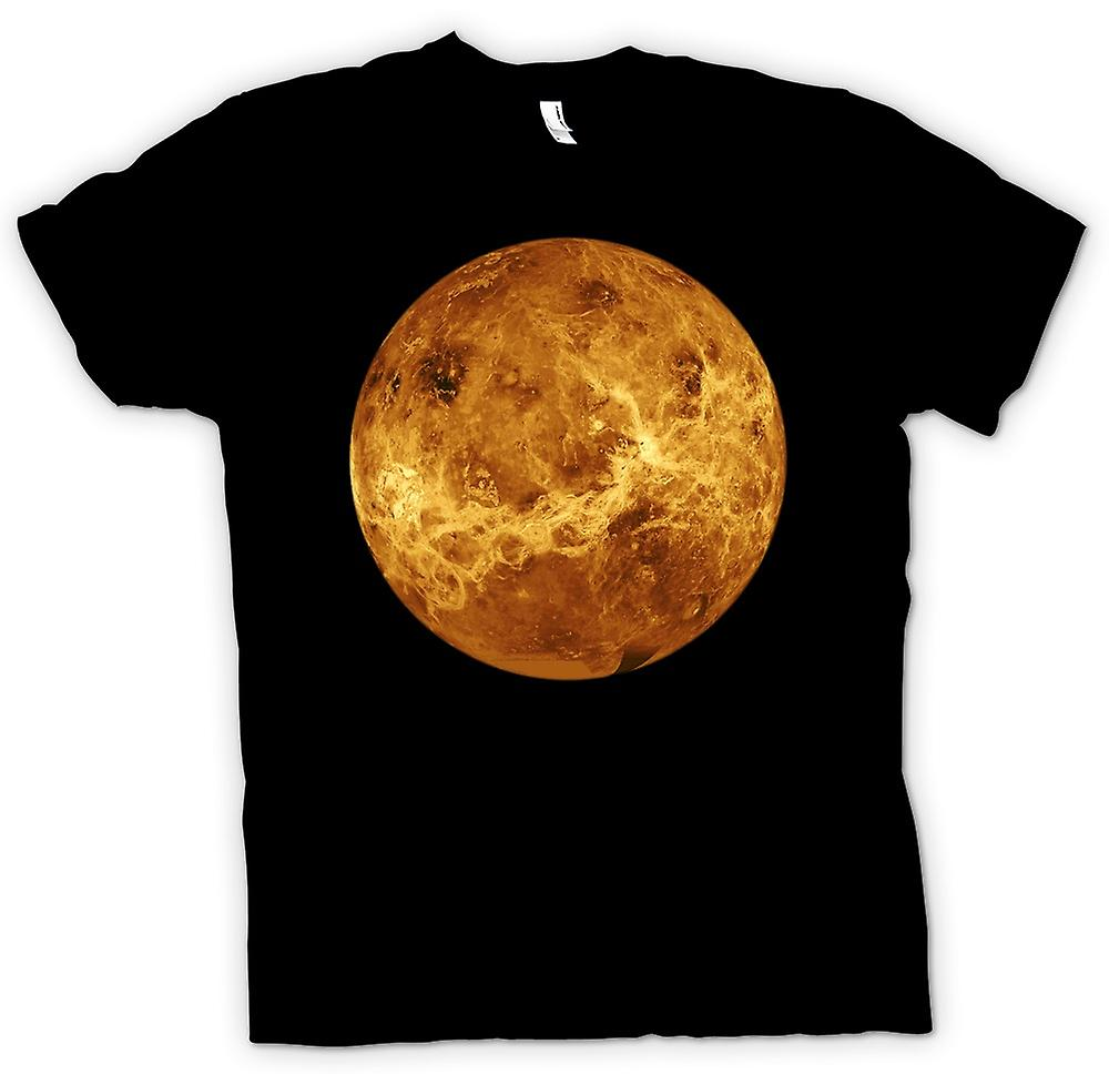 Mens T-shirt - Venus Planet - Cool astronomy