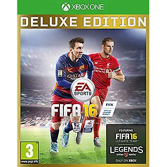 FIFA 16 Deluxe Edition (Xbox One) - Factory Sealed