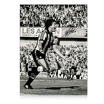 Kevin Keegan Signed Newcastle United Photo: Sensational Debut Goal