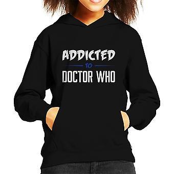 Addicted To Doctor Who Kid's Hooded Sweatshirt