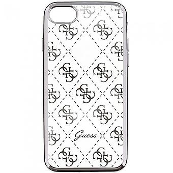 Guess Hard Cover Hülle transparent/gold für iPhone 6 6S