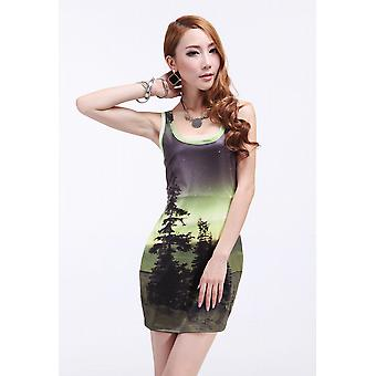 Waooh - Fashion - short tree motif Dress