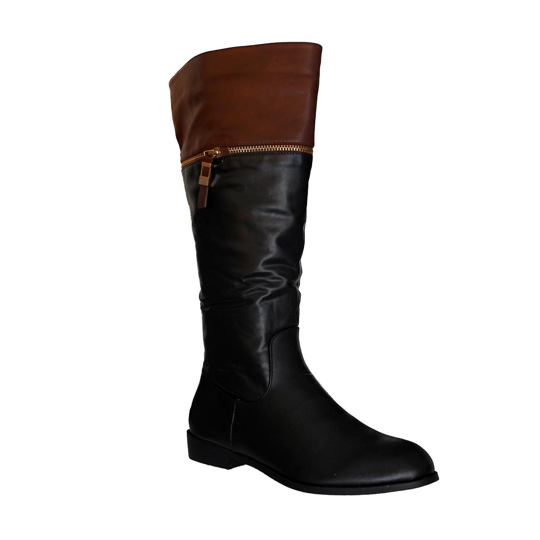 Waooh - mode - laarzen 'De goddelijke Factory' TDF627 lederen