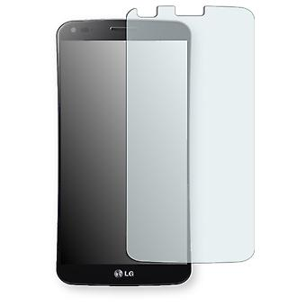 LG D955 G Flex display protector - Golebo crystal-clear protector (deliberately smaller than the display, as this is arched)