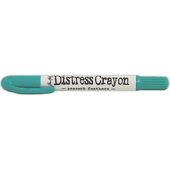 Tim Holtz Distress Crayons-Peacock Feathers