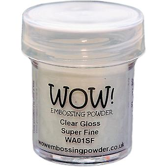 WOW! Embossing Powder 160ml-Clear Gloss Super Fine