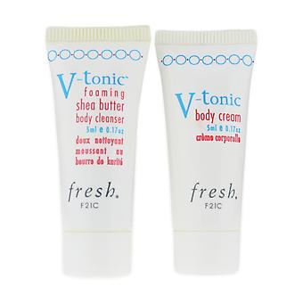Fresh V-Tonic Vital Bodycare For Active Lifestyles In Box (Travel Size)