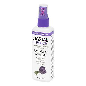 Crystal Essence Mineral Deodorant Spray, Lavender, 4 Oz