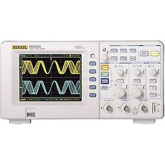 Rigol DS1102E Digital 100 MHz 2-channel 500 MSa/s 512 kpts 8 Bit Digital storage (DSO)