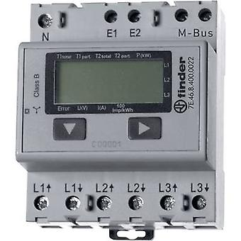 Finder 7E.46.8.400.0022 Electricity meter (3-phase) Digital 65 A MID-approved: No