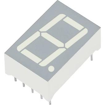 Kingbright Seven-segment display Green 14 mm 2.2 V No. of digits: 1 SA56-11GWA