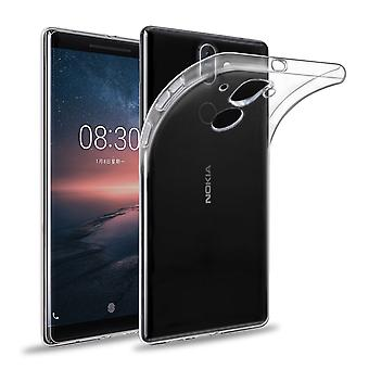 32. clear Gel Case + Stift für Nokia 8 Sirocco (2018) - klar