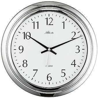 c8312c694 Wand Uhr Badezimmeruhr Quarz dampf und wassergeschützt