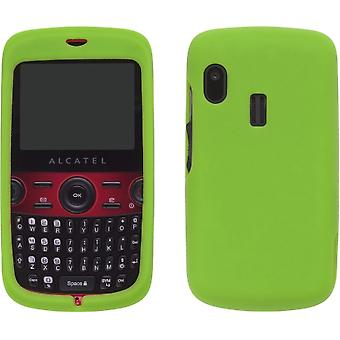 5 Pack -Silicone Gel Case for Alcatel OT-800 One Touch Tribe - Grasshopper Green