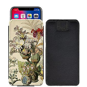 Flowers Custom Designed Printed Pull Tab Pouch Phone Case Cover for Xiaomi Redmi Note 5 (Redmi 5 Plus) [S] - F06_web