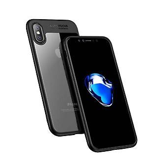 Stuff Certified® iPhone X - Auto Focus Armor geval dekken Cas siliconen TPU Case zwart