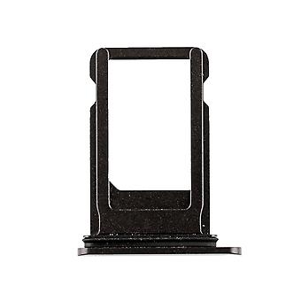 Black SIM Card Tray with Waterproof Gasket For iPhone 8