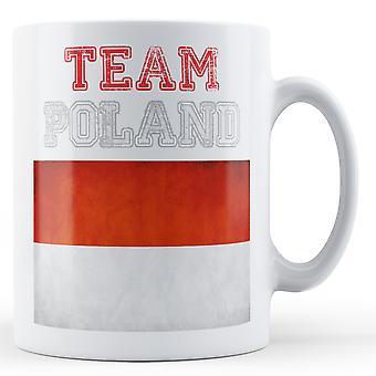 Team Poland - Printed Mug