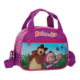 Cosmetic bag cosmetic bag Masha and the bear
