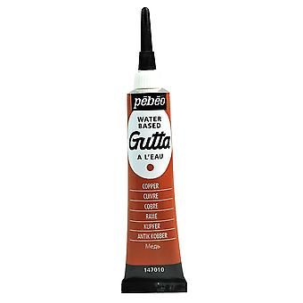 Pebeo Setasilk Gutta for Silk Painting 20ml (Copper)