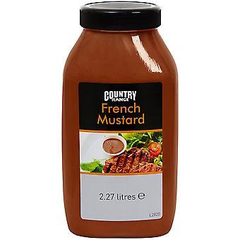 Land Auswahl französischer Senf