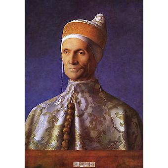 Il doge Leonardo Loredan,Giovanni Bellini,61.5x45cm
