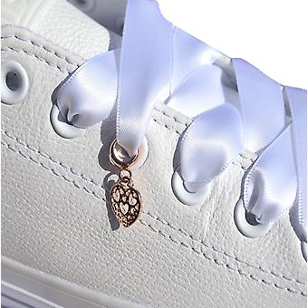 Rose Gold Dangle Heart Shoe Charm