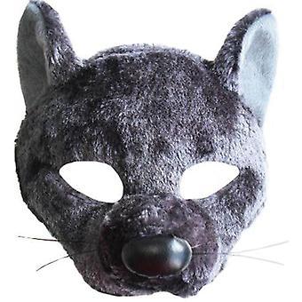 Rat Mask On Headband With Sound.