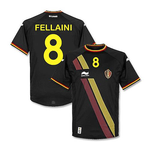 2014-15 België WK Away Shirt (Fellaini 8) - Kids