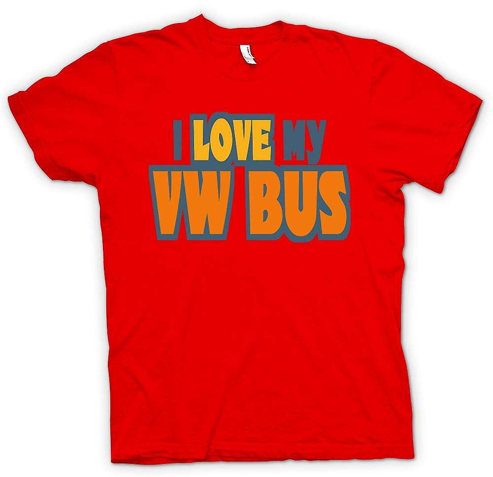 Camiseta para hombre - me encanta mi VW Bus - Car Enthusiast