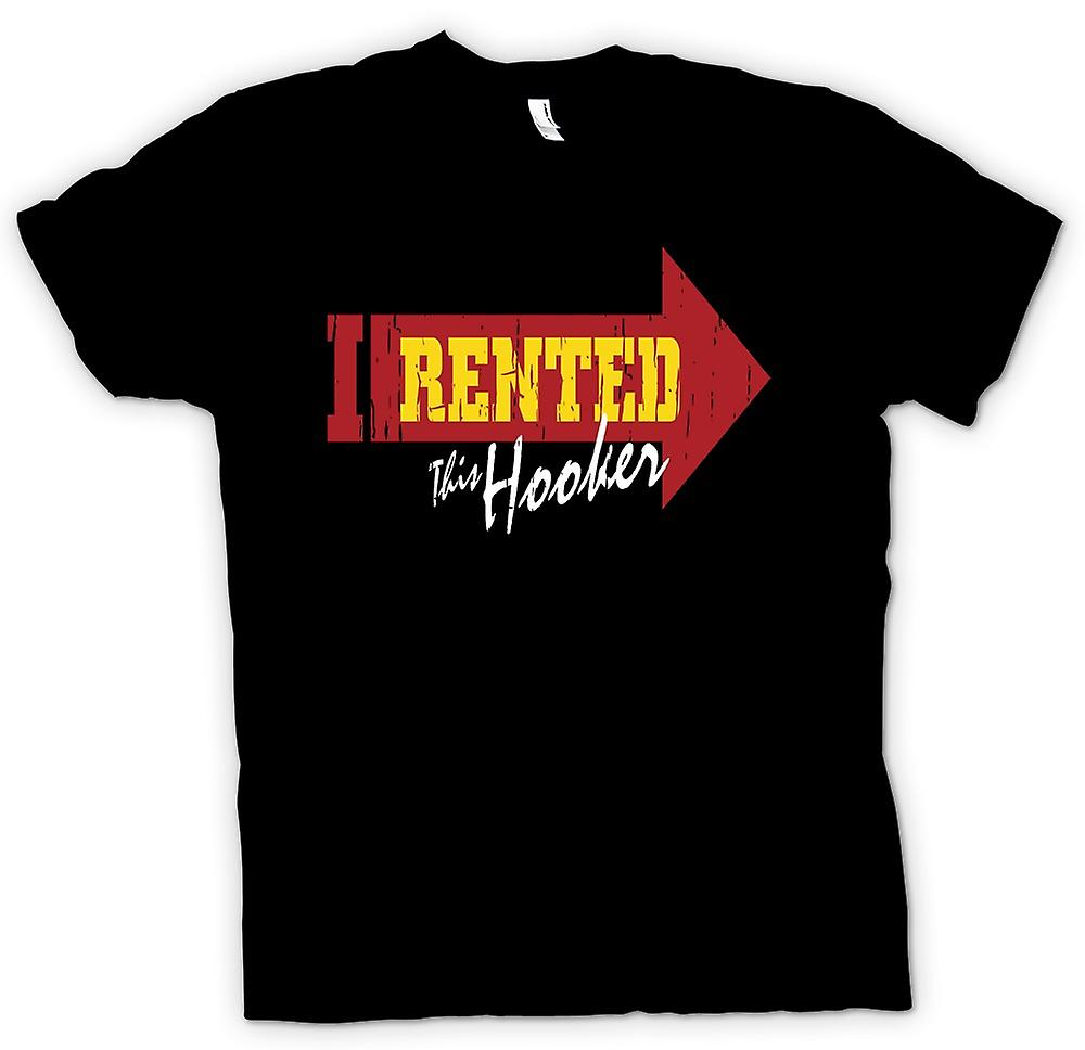 Womens T-shirt - I Rented This Hooker - Funny Joke